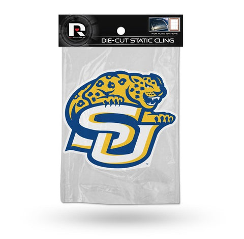 Southern Jaguars Die Cut Static Cling Decal Sticker 5 X 5 NEW!! Car Window