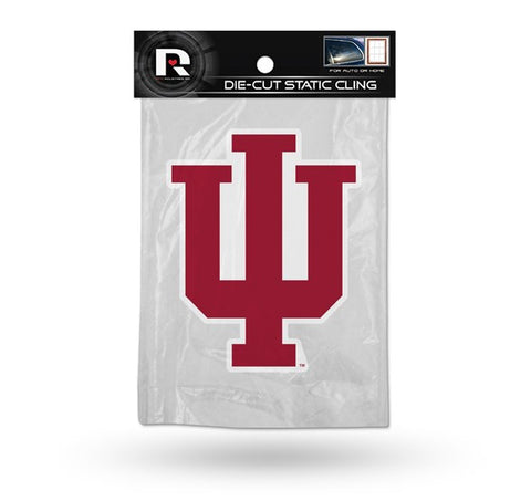 Indiana Hoosiers Die Cut Static Cling Decal Sticker 5 X 5 NEW!! Car Window