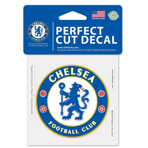 "Chelsea FC 3"" x 3"" Die-Cut Decal Window, Car or Laptop!"