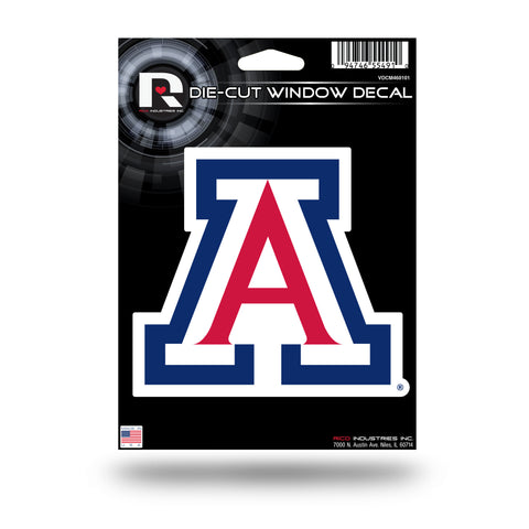 Arizona Wildcats Die Cut Decal NEW!! 4 X 5 Window, Car or Laptop!