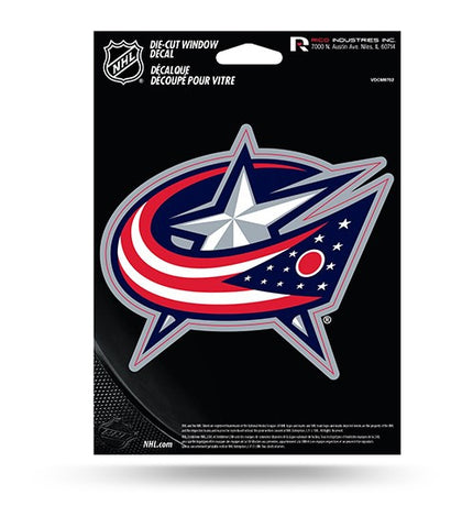 Columbus Blue Jackets Die Cut Decal NEW!! 4 X 4 Window, Car or Laptop