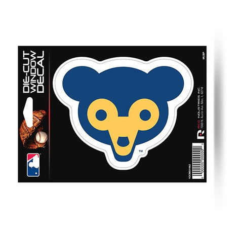 Chicago Cubs Retro Logo Die-Cut Decal NEW!! MLB Car or Laptop