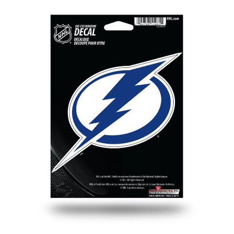 Tampa Bay Lightning Die Cut Decal NEW!! 5 X 4 Window, Car or Laptop