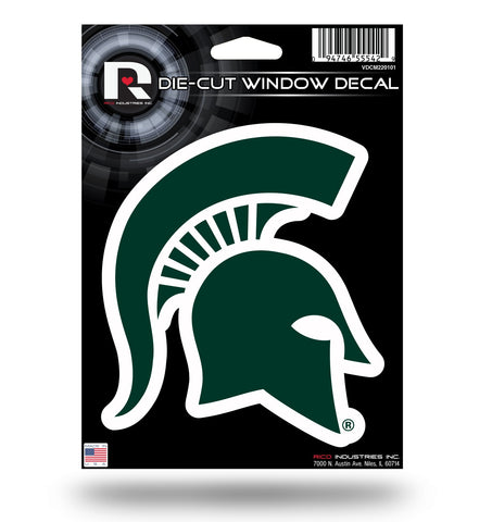 Michigan State Spartans Die Cut Decal NEW!! 5 X 5 Window, Car or Laptop!