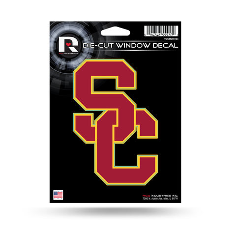 "USC Trojans 5"" x 3"" Die-Cut Decal Window, Car or Laptop!"