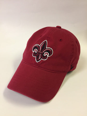 Louisiana Ragin Cajuns Hat NEW Red Adjustable Cotton Zephyr