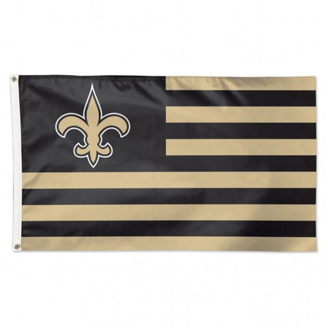 New Orleans Saints USA Banner Flag NEW! 3x5 Feet Free Shipping!