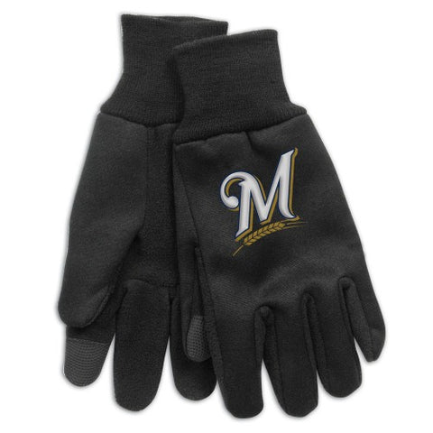 Milwaukee Brewers Technology Gloves NEW! MLB