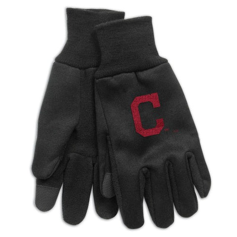 Cleveland Indians Technology Gloves NEW! MLB