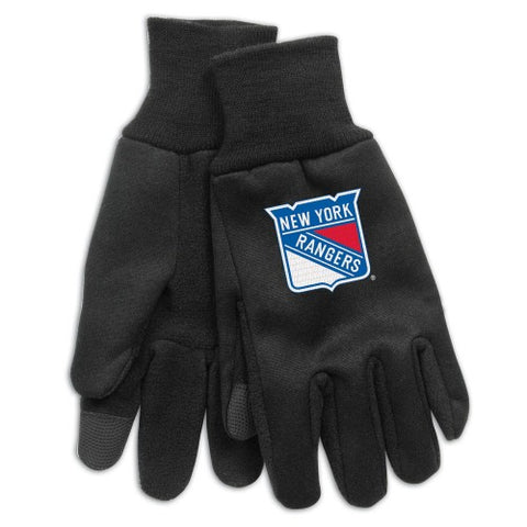 New York Rangers Technology Gloves NEW!