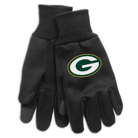 Green Bay Packers Technology Gloves NEW! NFL