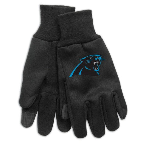 Carolina Panthers Technology Gloves NEW! NFL