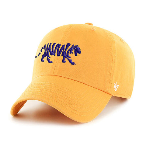 LSU Tigers Gold Hat NEW '47 Brand Stripes