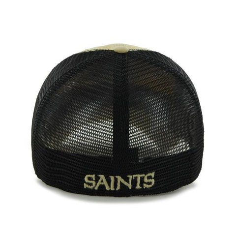 00dba448e16c1 New Orleans Saints Hat NEW  47 Brand Taylor Mesh Stretch Fit – Hub ...