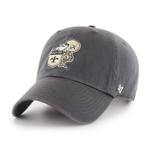 New Orleans Saints Hat Retro Logo NEW '47 Brand Gray