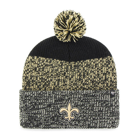 New Orleans Saints Knit Hat NEW '47 Static