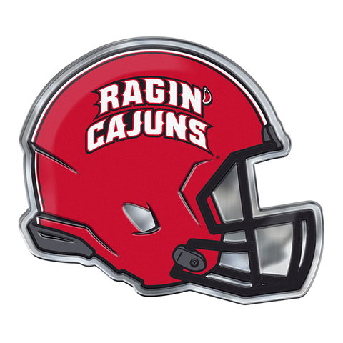Louisiana Ragin Cajuns Helmet Emblem Free Shipping! NCAA NEW!