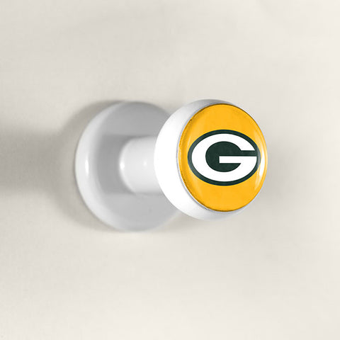Green Bay Packers Hat Pegz 3 Pack Hat Hanger Holder Display NEW!