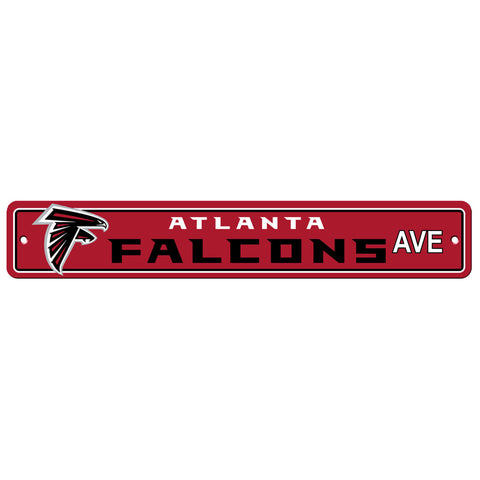 "Atlanta Falcons Street Sign NEW! 4"" X 24"" ""Falcons Ave."" Man Cave NFL"