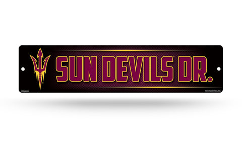 "Arizona State Sun Devils Street Sign NEW! 4""X16"" ""Sun Devils Dr."" Man Cave NCAA"