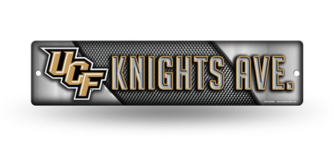 "Central Florida Knights Street Sign NEW! 4""X16"" ""Knights Ave."" Man Cave NCAA"