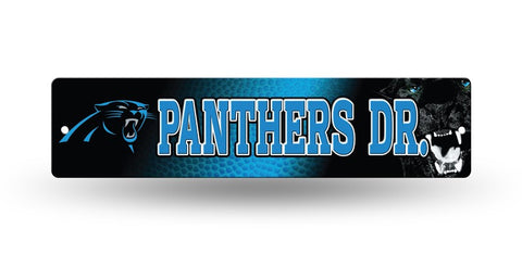 "Carolina Panthers Street Sign NEW! 4""X16"" ""Panthers Dr."" Man Cave NFL"