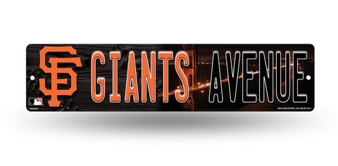 "San Francisco Giants Street Sign NEW! 4""X16"" ""Giants Avenue"" Man Cave MLB"