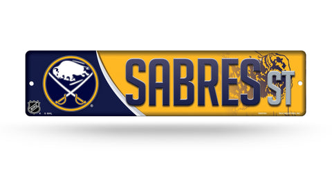 "Buffalo Sabres Street Sign NEW! 4""X16"" ""Sabres St."" Man Cave"