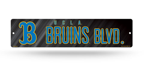 "UCLA Bruins Street Sign NEW! 4""X16"" ""Bruins Blvd"" Man Cave NCAA"