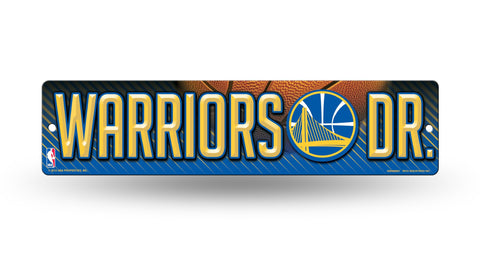"Golden State Warriors Street Sign NEW! 4""X16"" ""Warriors Dr."" Man Cave"