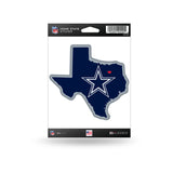 Dallas Cowboys State Outline Die-Cut Decal NEW!!!