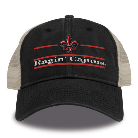 Louisiana Ragin Cajuns Hat NEW Black Adjustable The Game