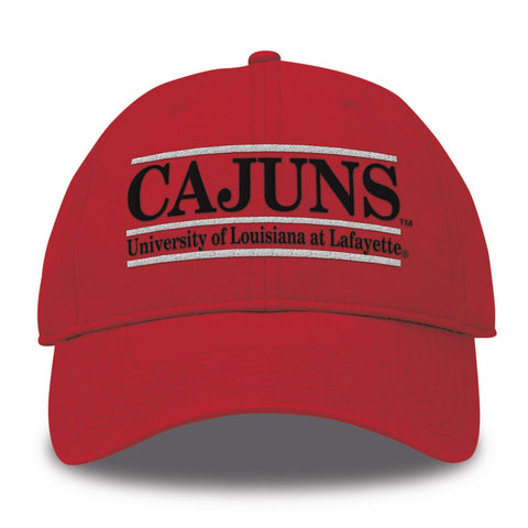 Louisiana Ragin Cajuns Hat NEW Red Adjustable The Game