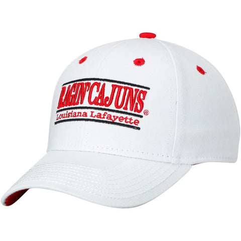 Louisiana Ragin Cajuns Hat NEW White Adjustable The Game