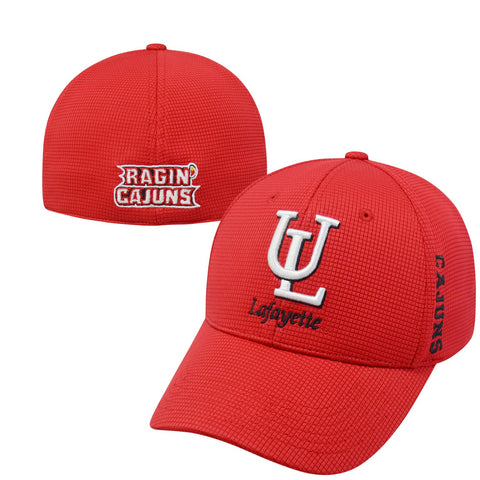 Louisiana Ragin Cajuns Hat NEW Red Booster Plus Top of the World