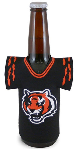 Cincinnati Bengals NFL Neoprene Bottle Jersey Koozie Beer Holder