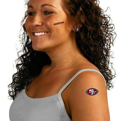 San Francisco 49ers Peel and Stick Tattoos NEW!! Free Shipping Kaepernick NFL