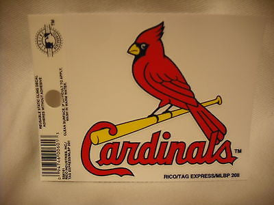 St. Louis Cardinals Static Cling Sticker NEW!! Window or Car!
