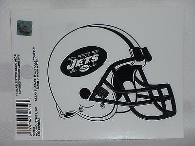 New York Jets Helmet Static Cling Sticker NEW!! Window or Car! Tim Tebow