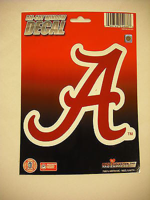 Alabama Crimson Tide Die Cut Decal NEW!! 5 X 5 Window, Car or Laptop!