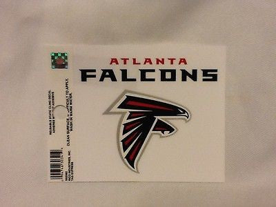 Atlanta Falcons Static Cling Sticker NEW!! Window or Car! NFL
