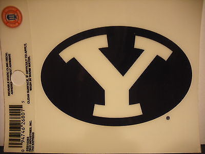 BYU Cougars Static Cling Sticker NEW!! Window or Car! NCAA