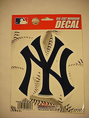"New York Yankees 5"" x 6"" Die-Cut Decal MLB"