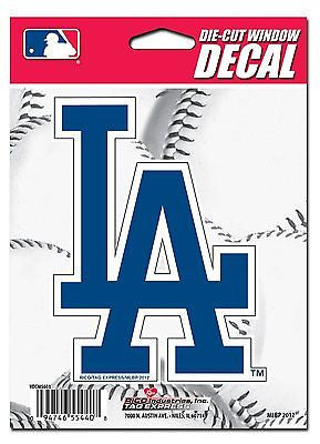 "Los Angeles Dodgers 5"" x 5"" Die-Cut Decal Window, Car or Laptop! NEW! MLB"