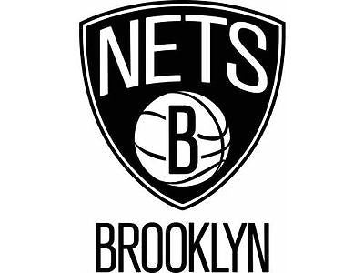 Brooklyn Nets Logo Static Cling Sticker NEW!! Window or Car! NBA