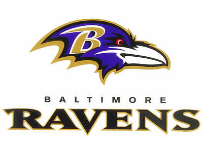 Baltimore Ravens Static Cling Sticker NEW!! Window or Car! NFL