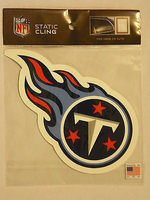 Tennessee Titans Die Cut Static Cling Decal Sticker 5 X 5 NEW!! Car Window