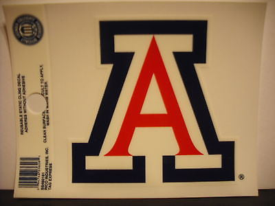 Arizona Wildcats Static Cling Sticker NEW!! Window or Car! NCAA