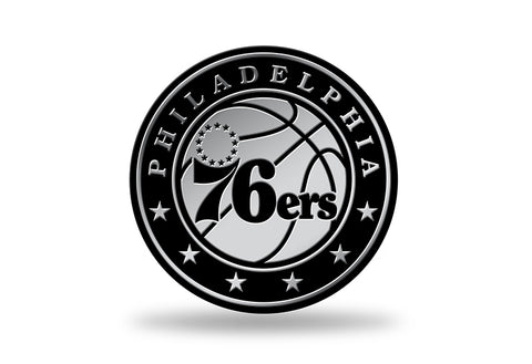 Philadelphia 76ers Logo 3D Chrome Auto Emblem NEW!! Truck or Car! Rico NBA