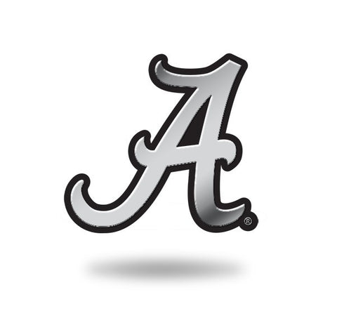 Alabama Crimson Tide Logo 3D Chrome Auto Emblem NEW!! Truck or Car! Rico NCAA